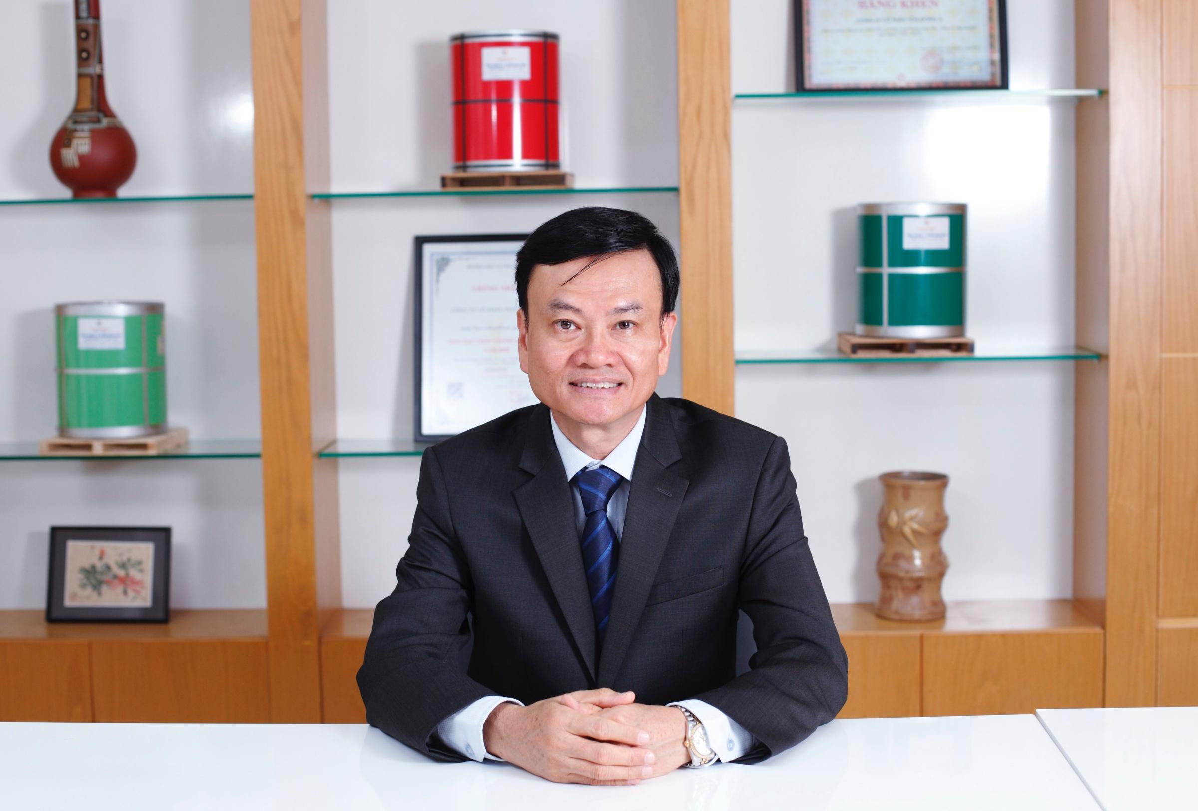 Ông Nguyễn Thanh Trung - Chủ tịch HĐQT Công ty Cổ phần Tôn Đông Á.